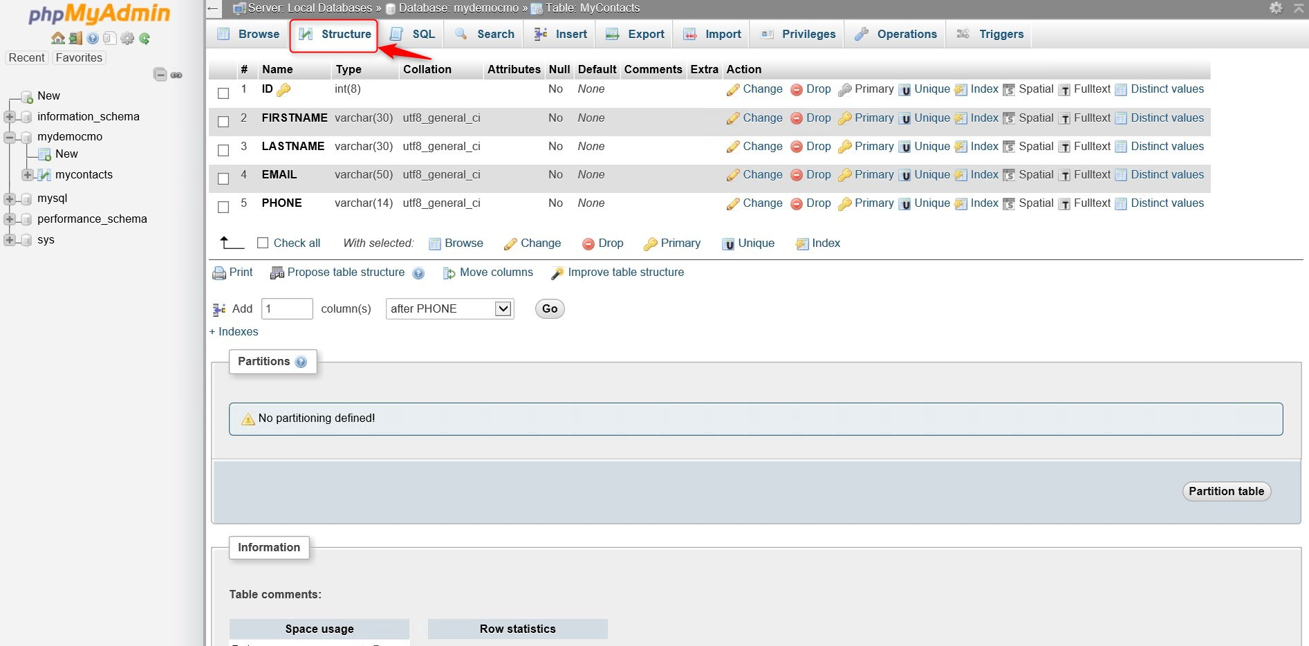 What is PhpMyAdmin and how to manage a MySQL database with