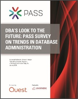 DBAs Look to the Future-PASS Survey on Trends in Database Administration white paper-1