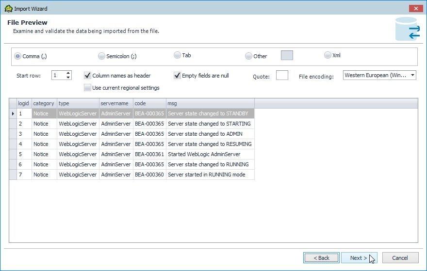 Figure 20.  File Preview