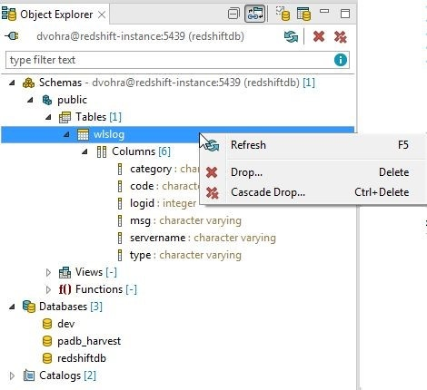 Using Toad Edge 2 0 2 with Amazon Redshift – Part 2