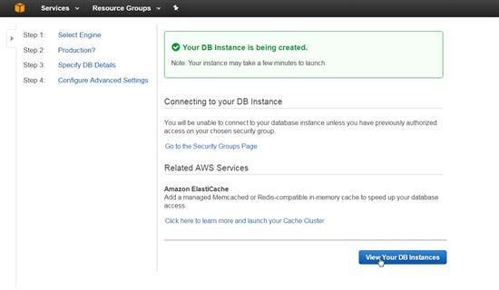Creating and Managing PostgreSQL in Amazon RDS