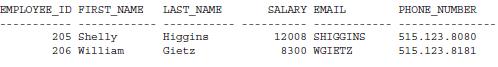 Figure 1. No data redaction