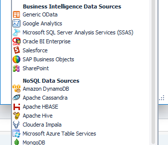 Wide range of support allows Toad Data Point to connect to different data sources