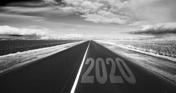 Photo of road with the year of 2020. What changes we can expect to see in database management for 2020.