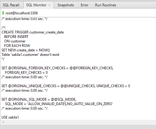 Screen shot of Monitor Sessions Toad for Oracle feature, where you can see who's logging on to your database and see what they are doing.