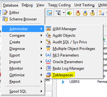 JS_tablespace pulldown