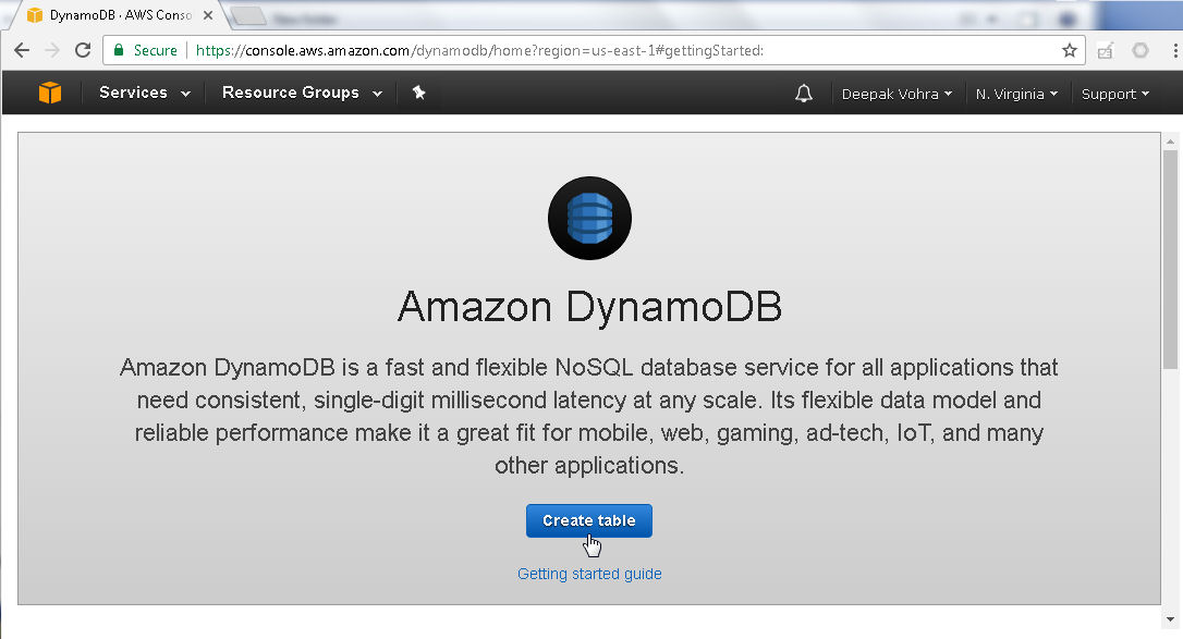 A Next-generation Agile Database for the Cloud - AWS DynamoDB