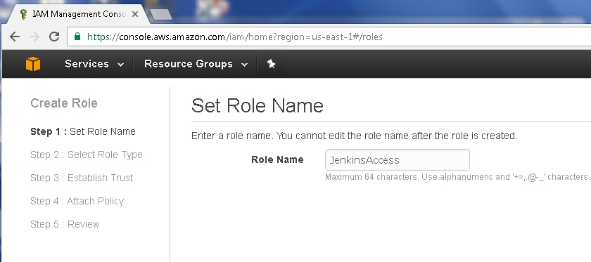 Developing an AWS CodePipeline – Creating a Jenkins Pipeline to