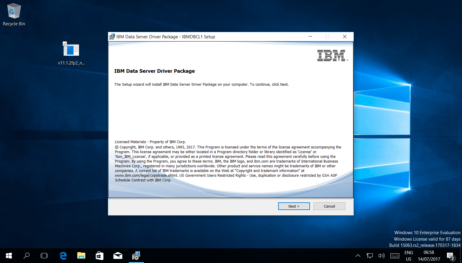 ibm db2 jdbc driver license