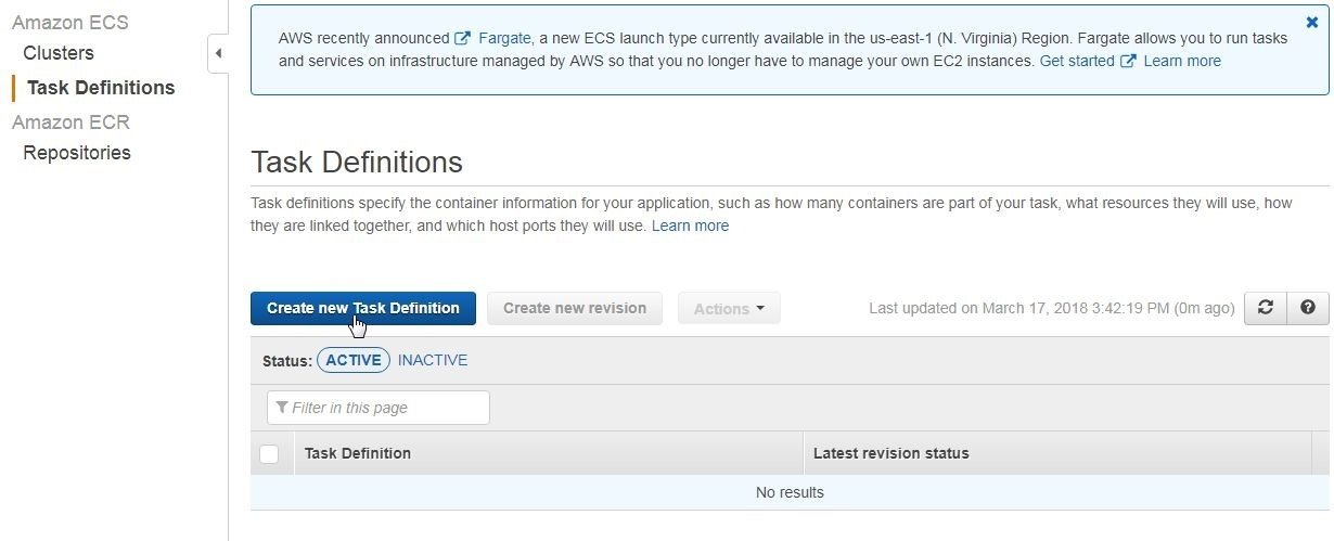 Using Toad Edge Preview 2 0 0 with PostgreSQL 10 on Amazon ECS