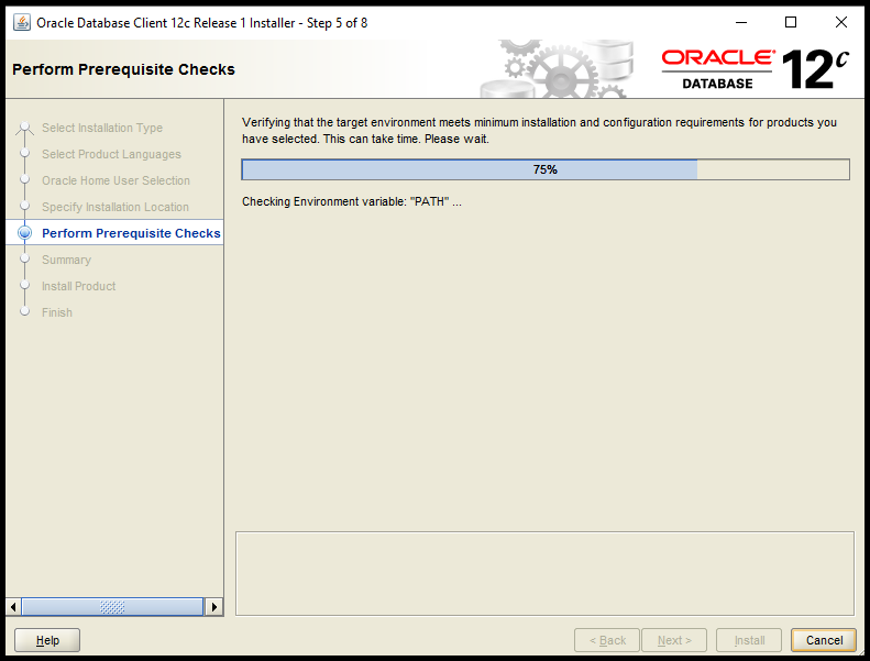 Oracle 11g/12c Client Install on Windows: Lightweight and