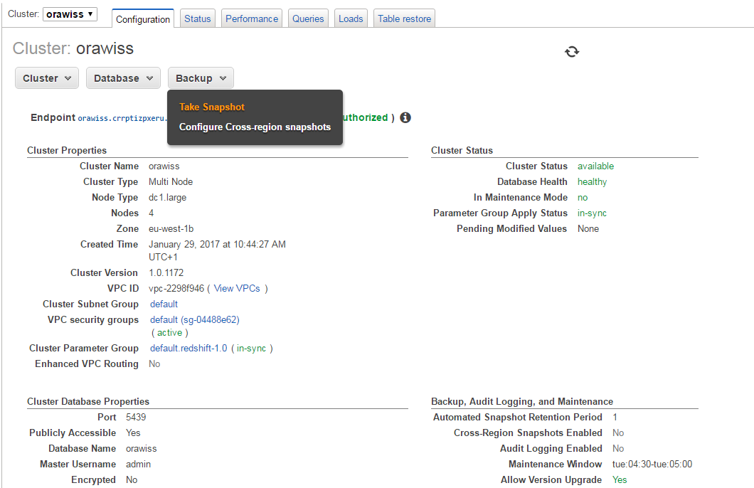 AWS Big Data Services in the Cloud Part 1: Amazon Redshift