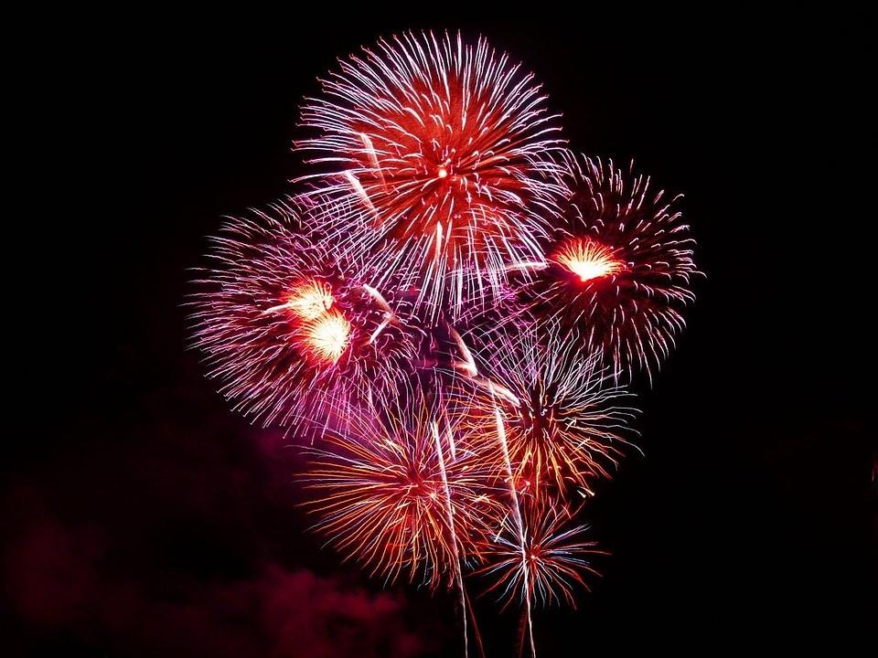 Success! Fireworks photo!