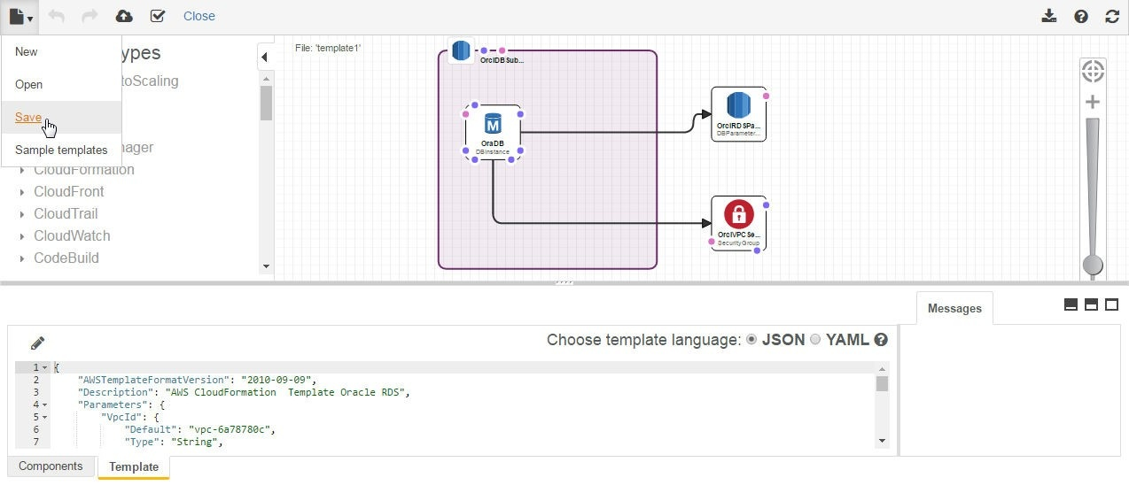 Infrastructure as Declarative Code - Using AWS CloudFormation for an