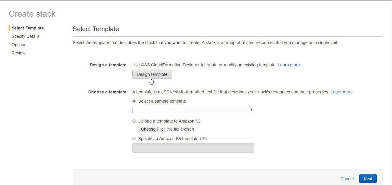 Infrastructure as Declarative Code - Using AWS