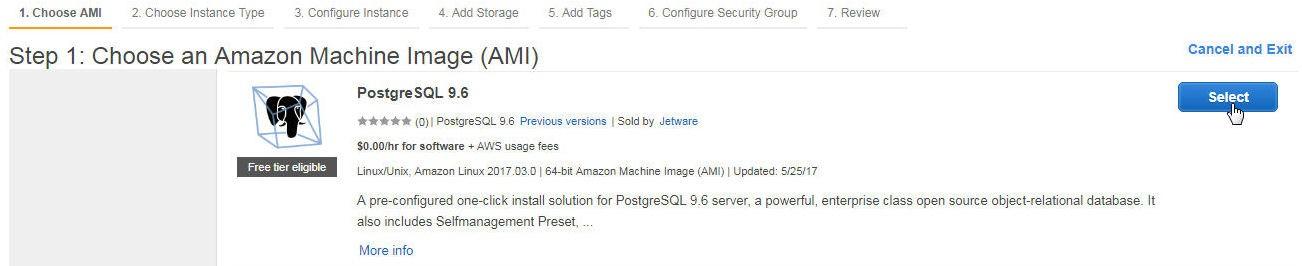 Using Toad Data Point with PostgreSQL Database on AWS EC2 - I