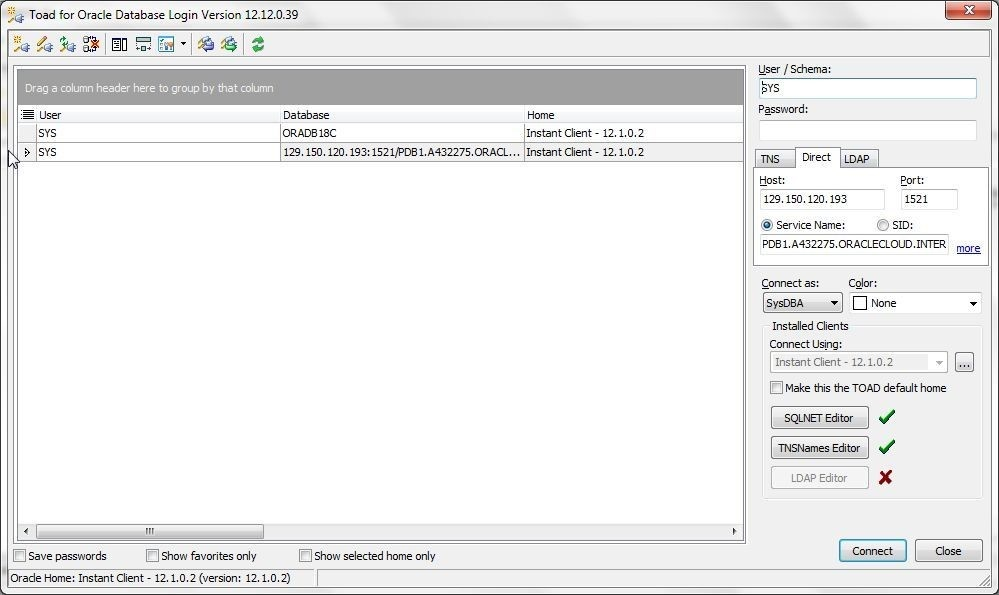 Using Toad for Oracle with Oracle Database 18c - II