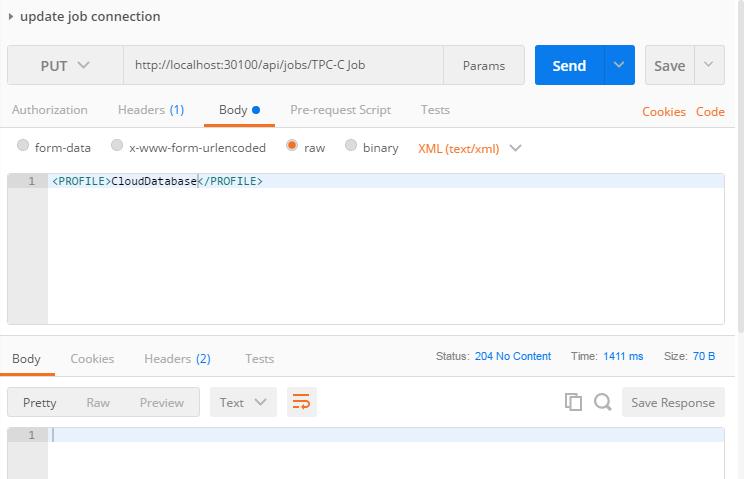 Benchmark Factory REST API (Part 2)