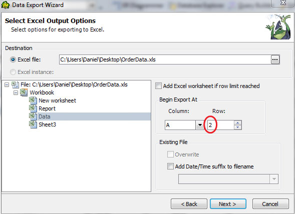 Update your Excel reports    automatically!