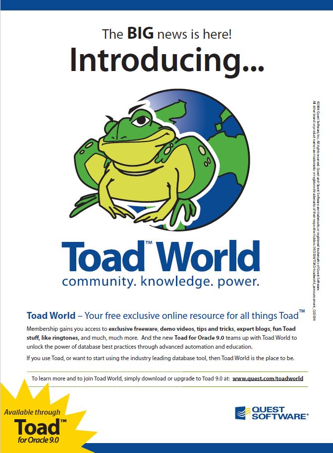 Toad World Blog | NoSQL