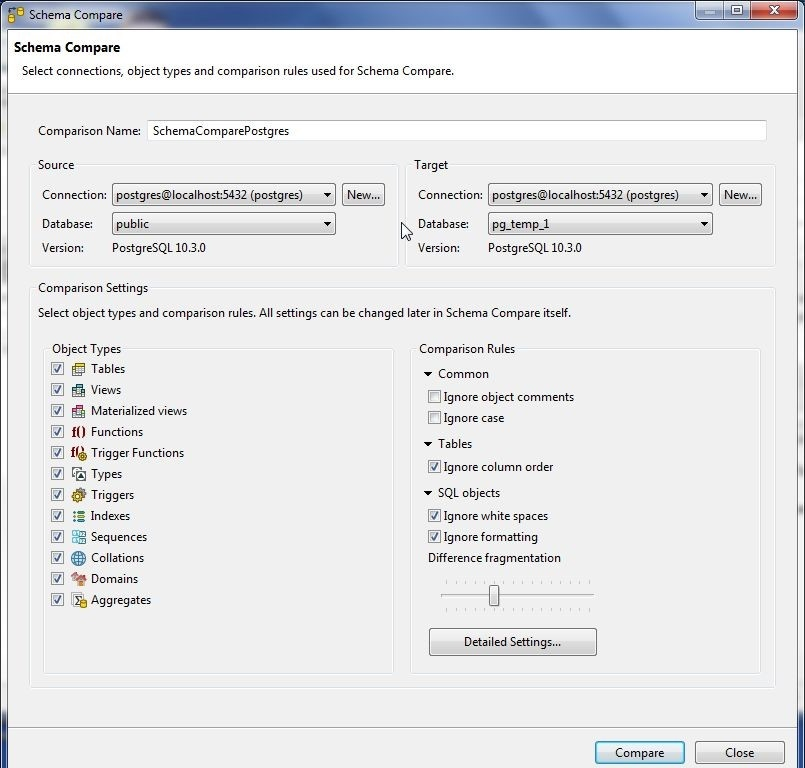 Using Toad Edge 2 0 with PostgreSQL 10