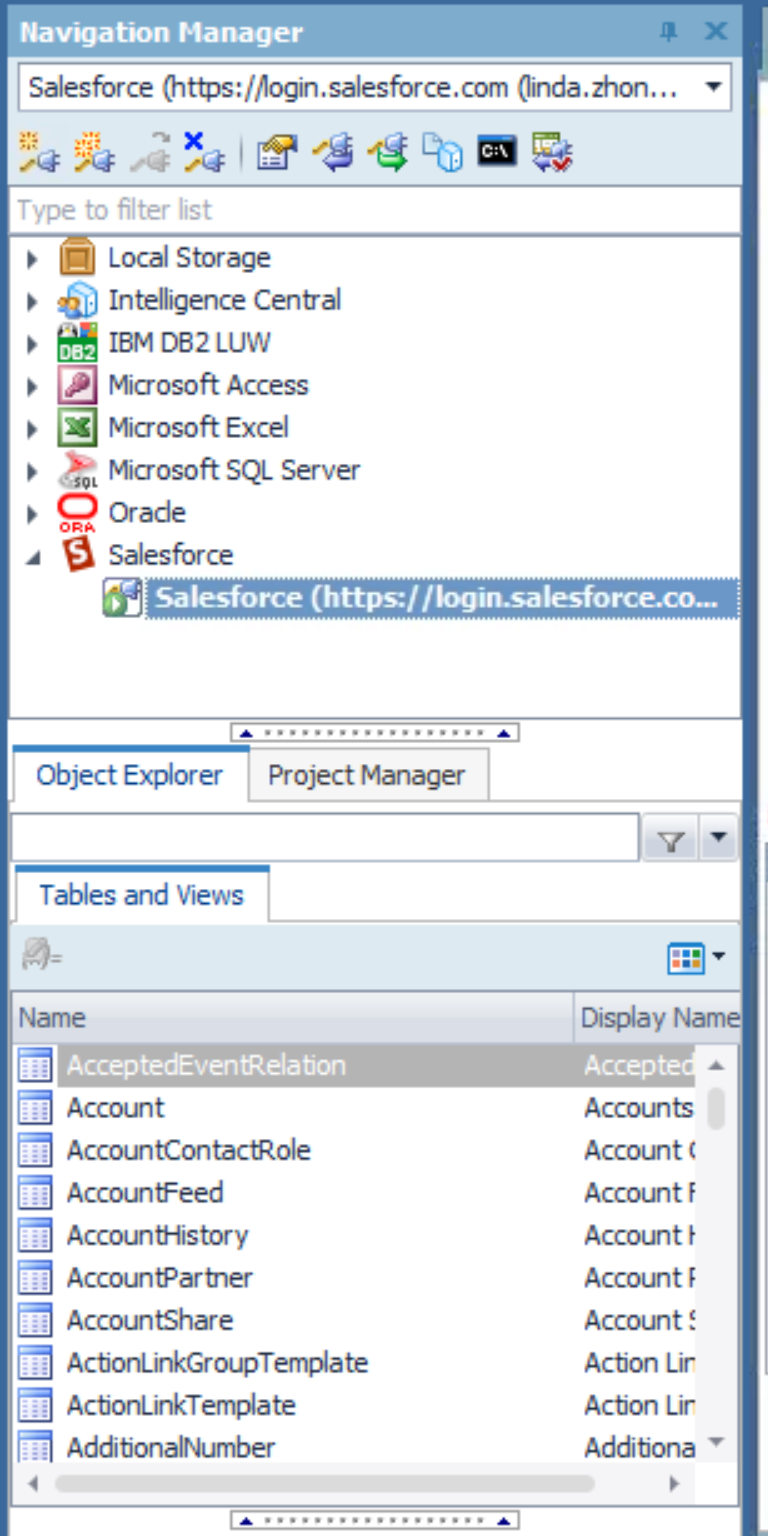 SalesForce, Toad Data Point and You