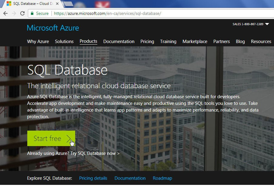 Using Toad for SQL Server with SQL Database on Azure